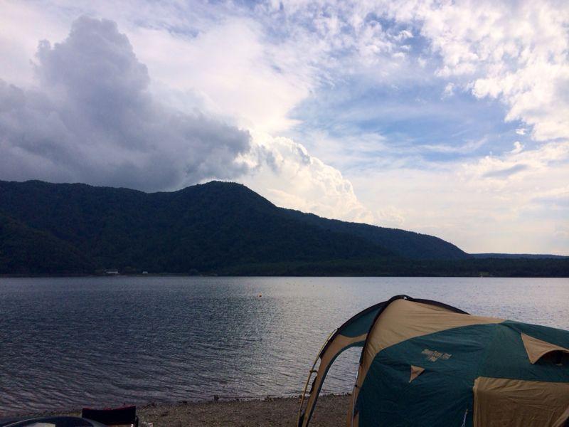 キャンプ猫☆ 西湖_c0151965_13545233.jpg