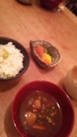 和食もいいもんだね。_f0183666_23080338.jpg
