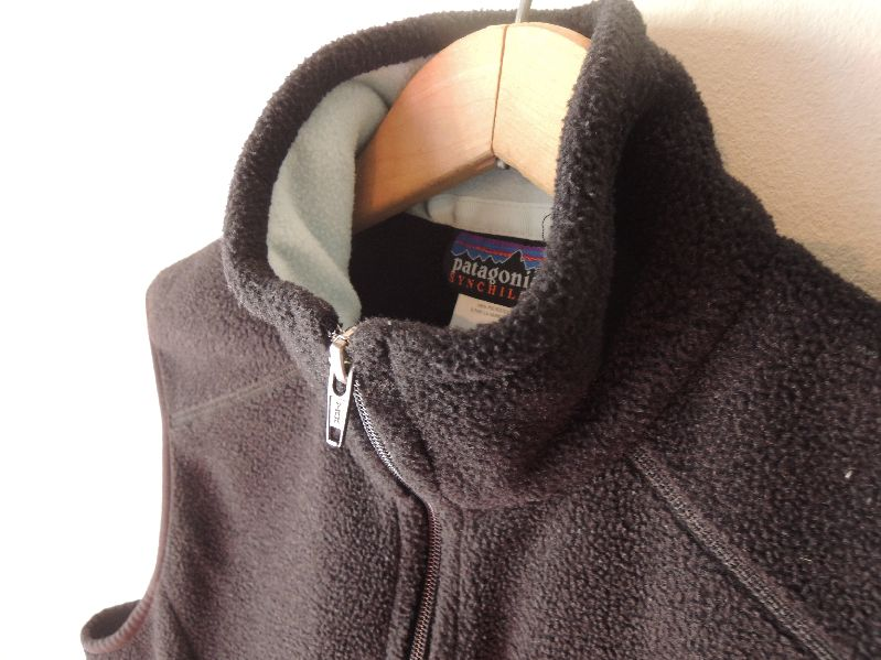 BLACK CLOTHES-60S CARDIGAN/PATAGONIA---RECOMMEND--_c0176867_14405091.jpg