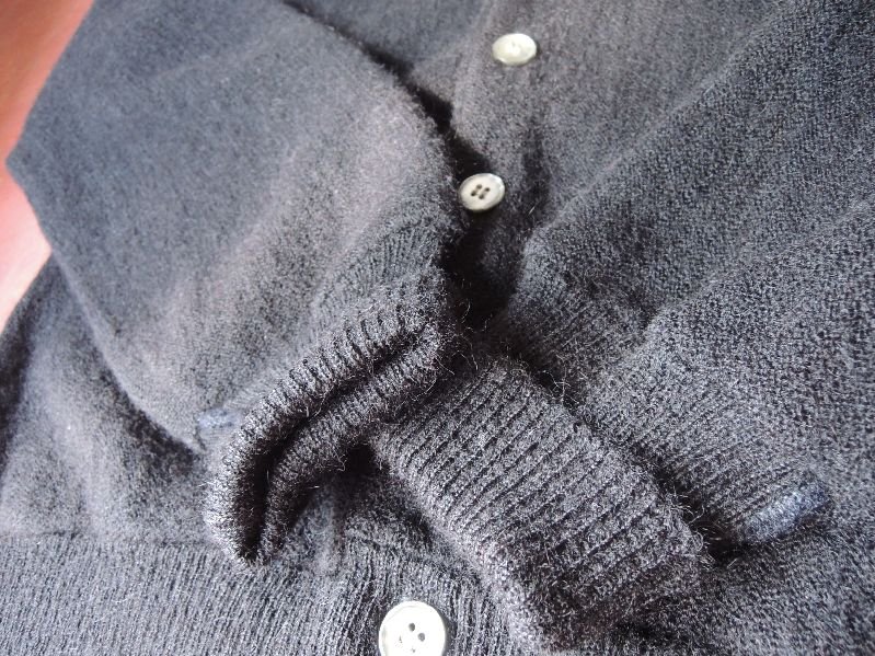 BLACK CLOTHES-60S CARDIGAN/PATAGONIA---RECOMMEND--_c0176867_1444452.jpg