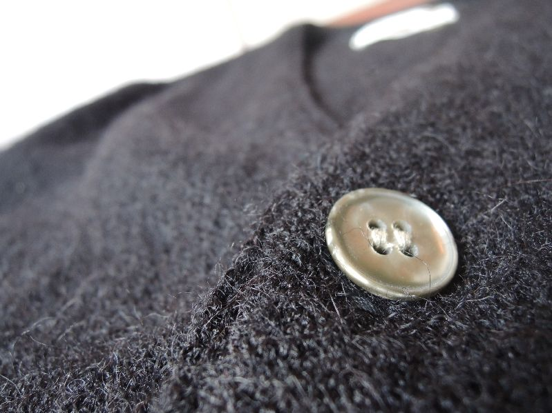 BLACK CLOTHES-60S CARDIGAN/PATAGONIA---RECOMMEND--_c0176867_1444986.jpg