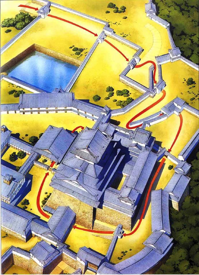如何攻擊日本城堡(姬路城級)_e0040579_7295211.jpg
