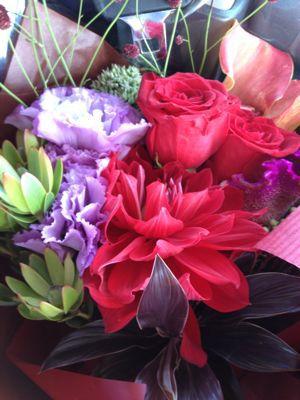敬老祝いのお花。_b0135325_658385.jpg