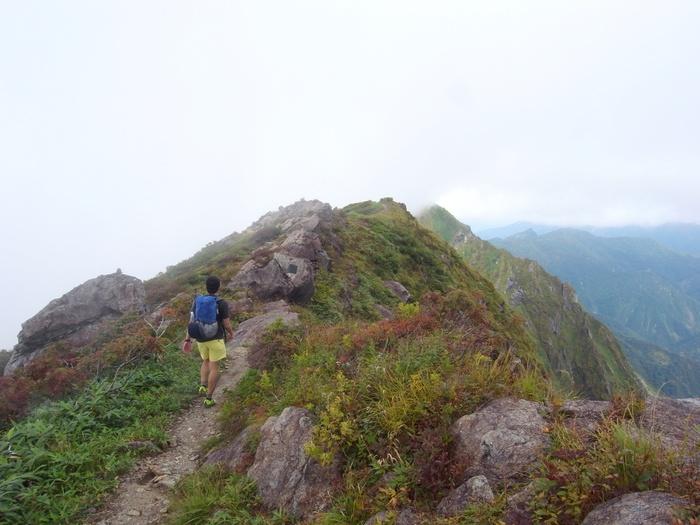 9.13-14 谷川岳で寝るハイク day1_b0219778_21213744.jpg