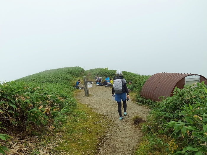 9.13-14 谷川岳で寝るハイク day1_b0219778_21302278.jpg