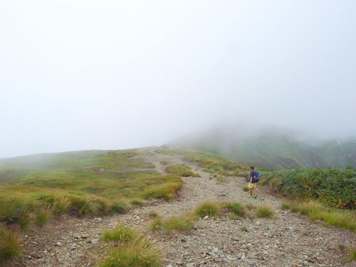9.13-14 谷川岳で寝るハイク day1_b0219778_21304195.jpg