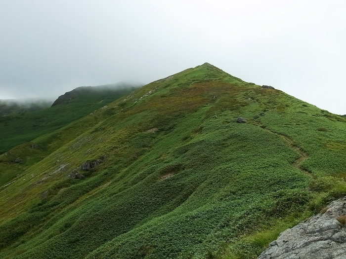 9.13-14 谷川岳で寝るハイク day1_b0219778_21354636.jpg