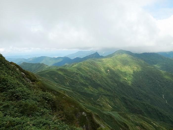 9.13-14 谷川岳で寝るハイク day1_b0219778_2139421.jpg