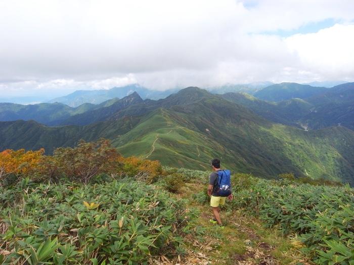 9.13-14 谷川岳で寝るハイク day1_b0219778_21432456.jpg