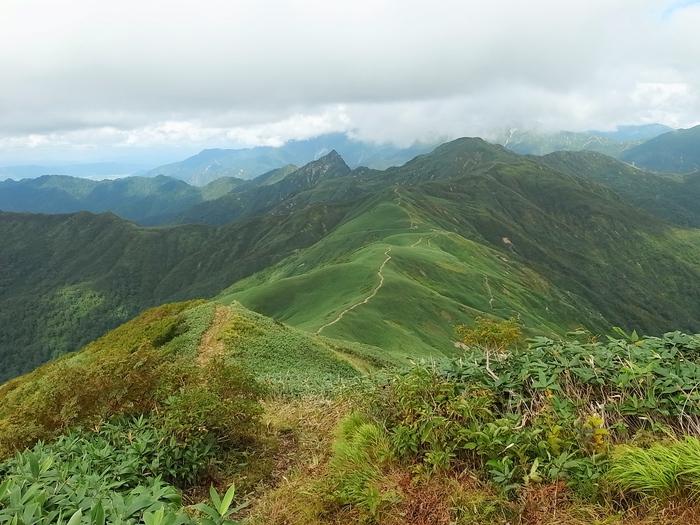 9.13-14 谷川岳で寝るハイク day1_b0219778_21441770.jpg