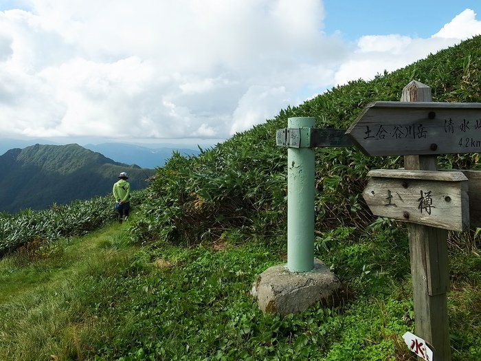 9.13-14 谷川岳で寝るハイク day1_b0219778_214541.jpg