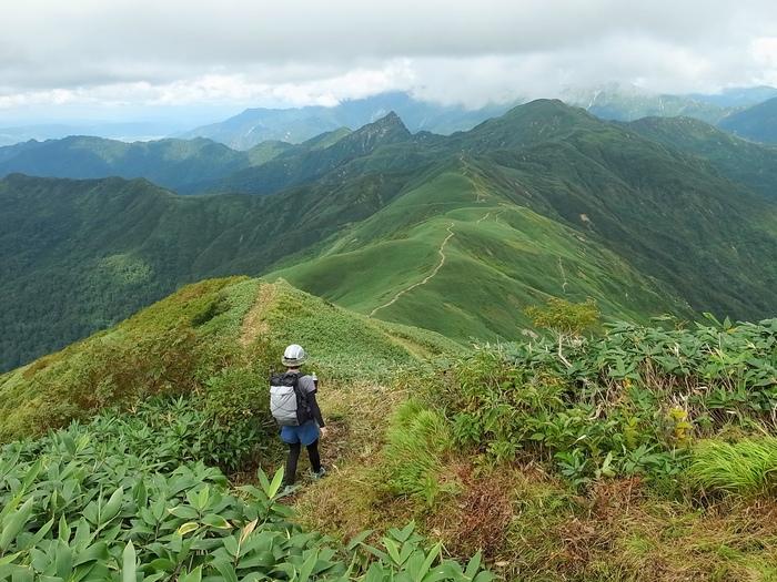 9.13-14 谷川岳で寝るハイク day1_b0219778_21493041.jpg
