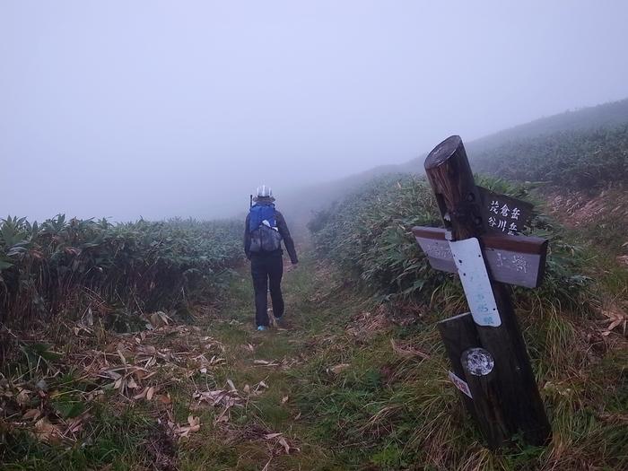 9.13-14 谷川岳で寝るハイク day2_b0219778_23273657.jpg