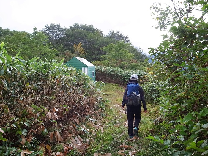 9.13-14 谷川岳で寝るハイク day2_b0219778_2330515.jpg