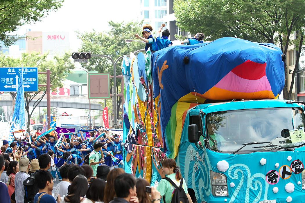 日本福祉大学 夢人党@第16回にっぽんど真ん中祭り_c0187584_22283922.jpg