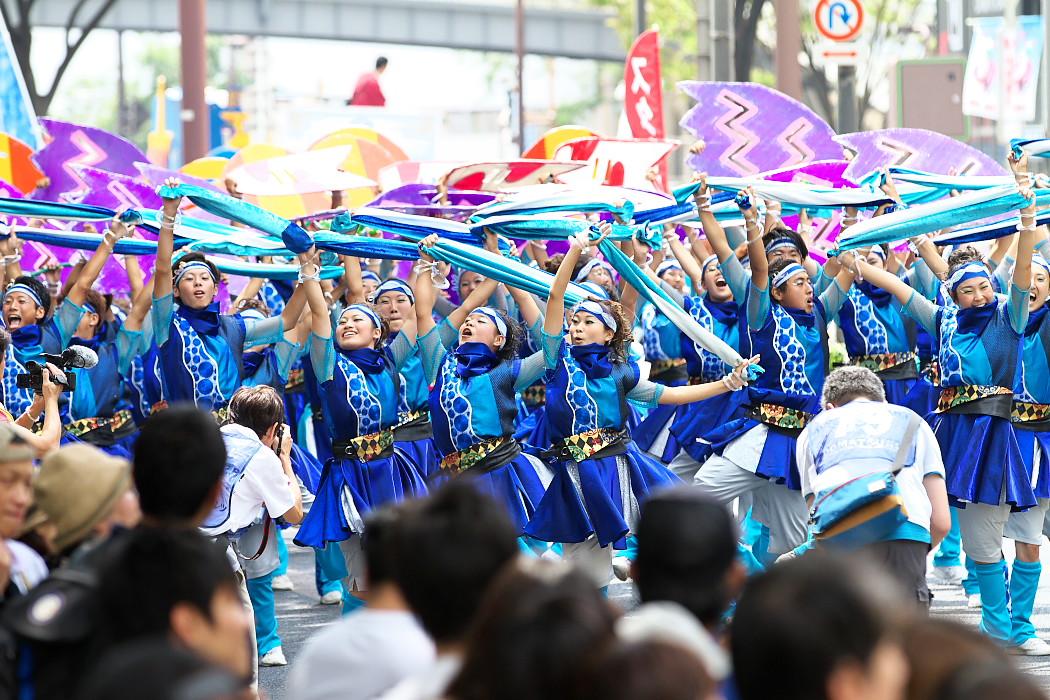 日本福祉大学 夢人党@第16回にっぽんど真ん中祭り_c0187584_22284826.jpg