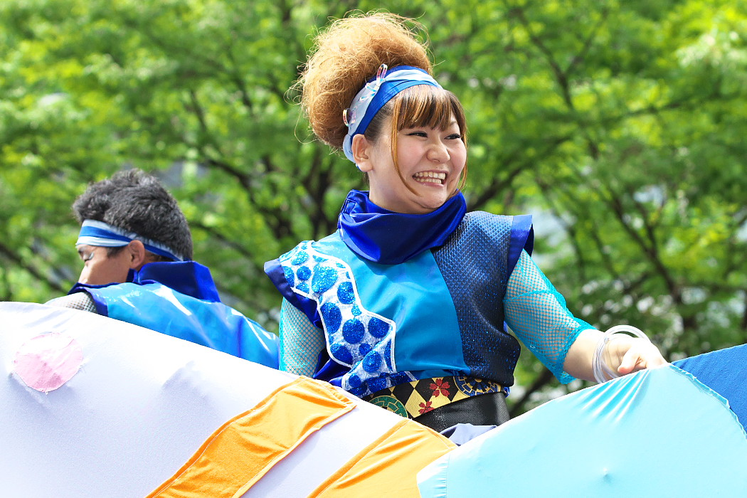 日本福祉大学 夢人党@第16回にっぽんど真ん中祭り_c0187584_22285411.jpg