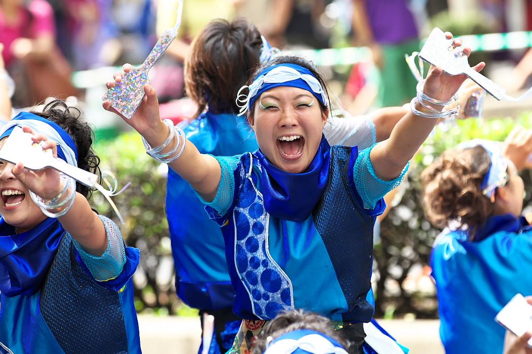 日本福祉大学 夢人党@第16回にっぽんど真ん中祭り_c0187584_2229493.jpg