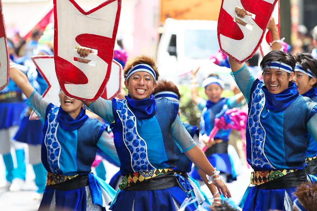 日本福祉大学 夢人党@第16回にっぽんど真ん中祭り_c0187584_22295719.jpg
