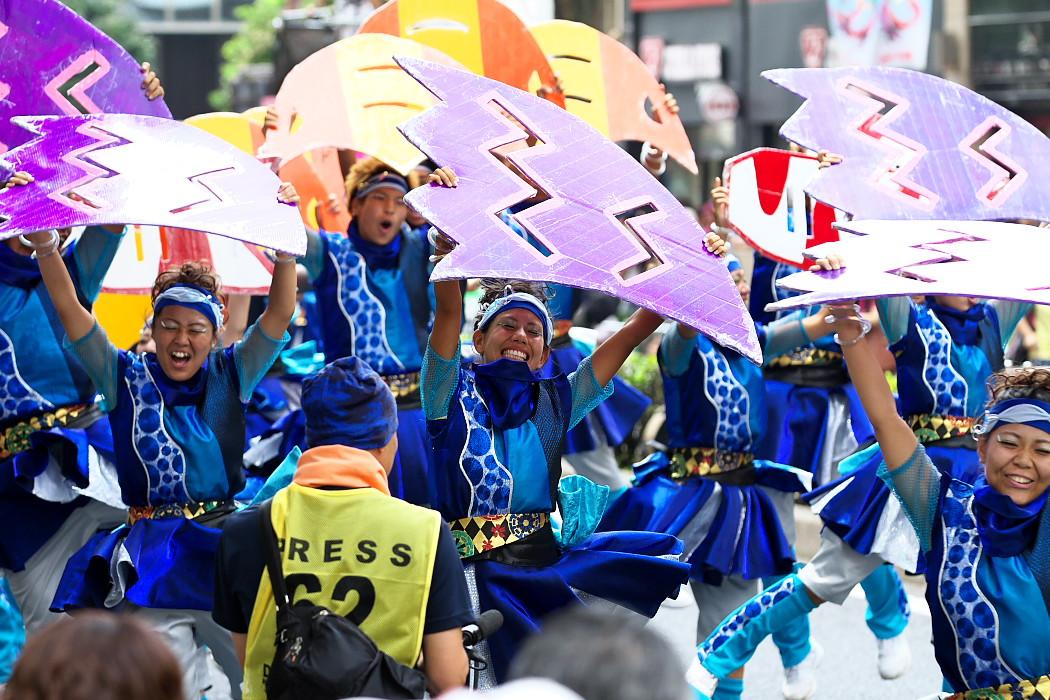 日本福祉大学 夢人党@第16回にっぽんど真ん中祭り_c0187584_2229661.jpg