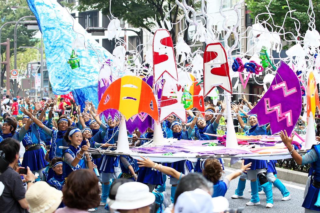 日本福祉大学 夢人党@第16回にっぽんど真ん中祭り_c0187584_22302441.jpg