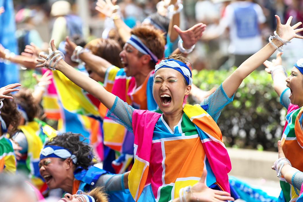 日本福祉大学 夢人党@第16回にっぽんど真ん中祭り_c0187584_2231182.jpg