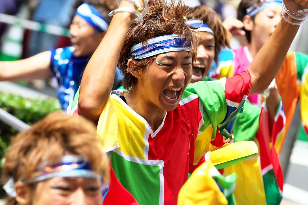 日本福祉大学 夢人党@第16回にっぽんど真ん中祭り_c0187584_22311916.jpg