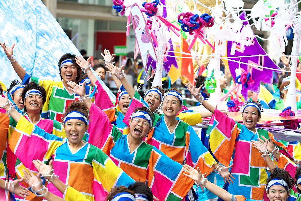日本福祉大学 夢人党@第16回にっぽんど真ん中祭り_c0187584_2231404.jpg