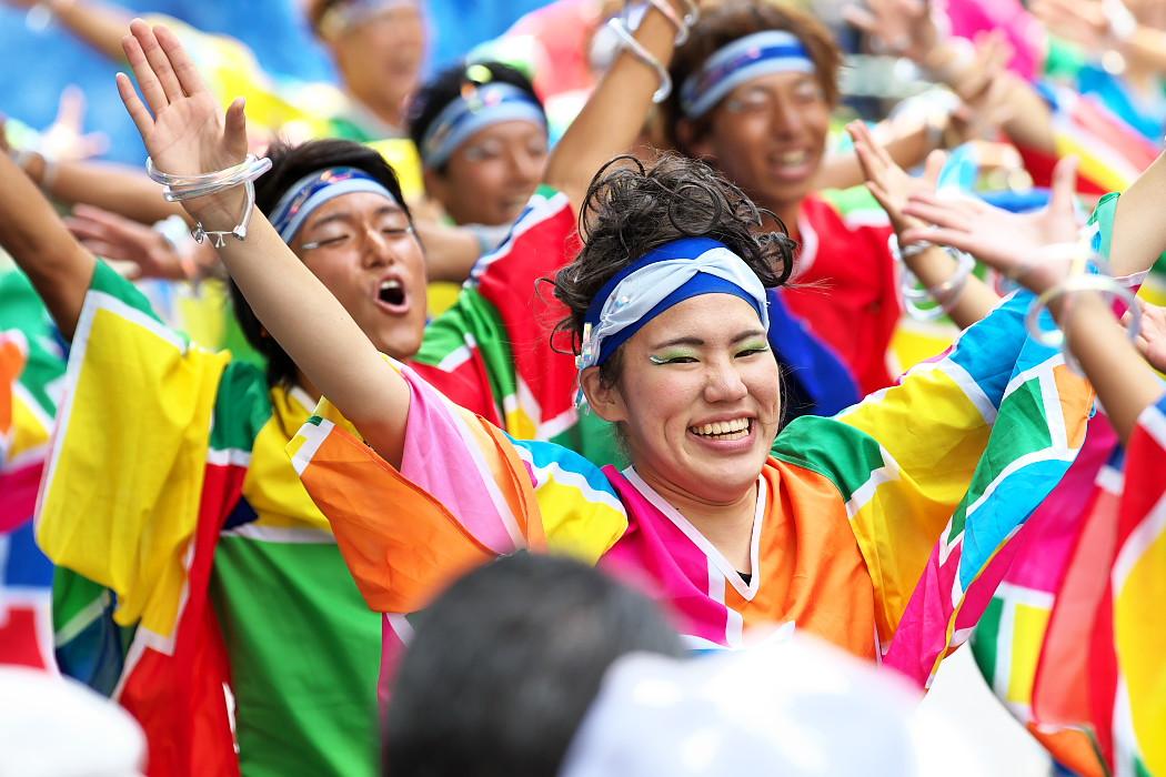 日本福祉大学 夢人党@第16回にっぽんど真ん中祭り_c0187584_2231783.jpg