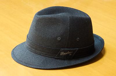 敬老の日の昨日、帽子をプレゼントされた。_b0194208_1141766.jpg