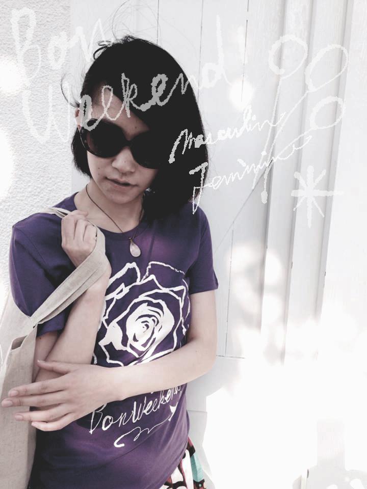Bonweekend!Tシャツ&綿麻sac! 販売中_f0172313_14580509.jpg
