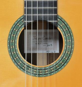 フェリッペコンデ  フラメンコギター初入荷_c0330563_16215569.jpg