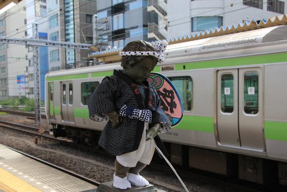 2014年9月の小便小僧 浜松町駅にて!_d0202264_66388.jpg