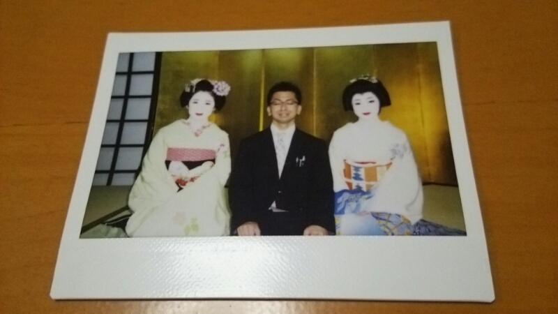 舞妓さんと記念撮影_b0106766_2343355.jpg