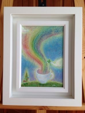 * 「ほっと 一息 幸せの虹」  オーダー品 2014 *_e0290872_21431291.jpg