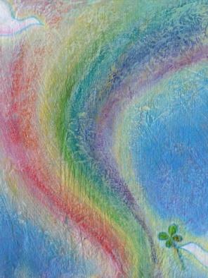 * 「ほっと 一息 幸せの虹」  オーダー品 2014 *_e0290872_21524667.jpg