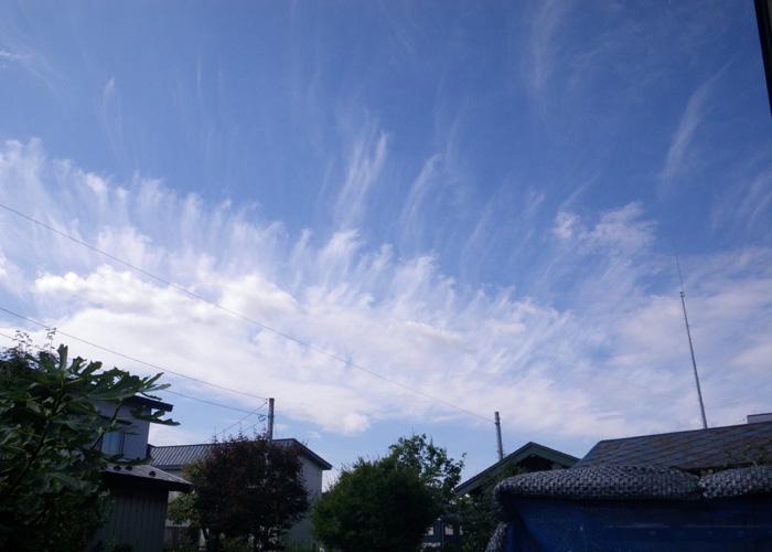 秋らしい雲と空と~~♪_a0136293_17462816.jpg