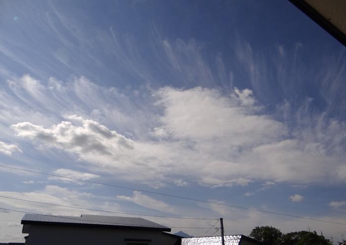 秋らしい雲と空と~~♪_a0136293_17533390.jpg