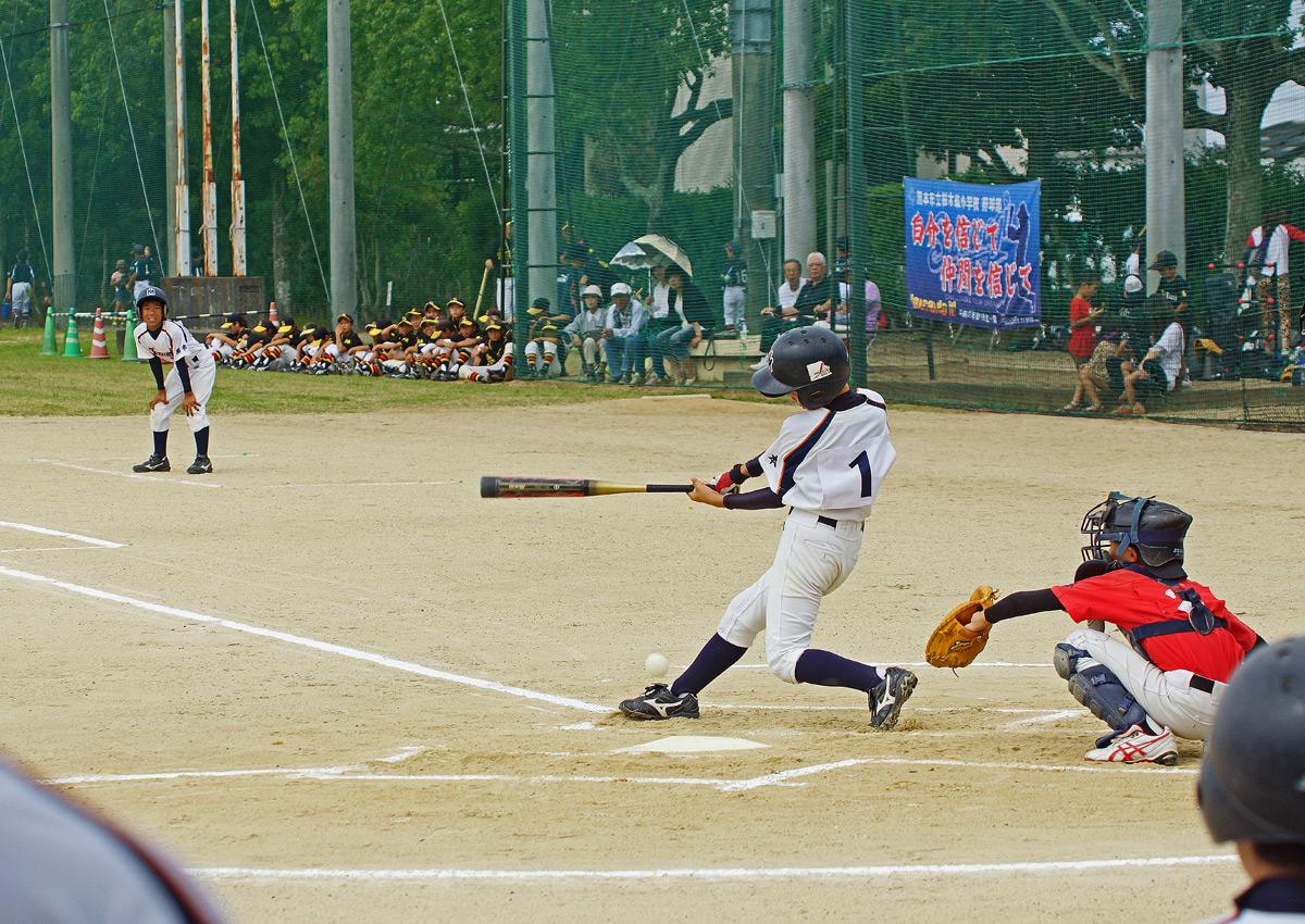 熊本市小中学生軟式野球大会。Ⅱ_b0044115_8401496.jpg