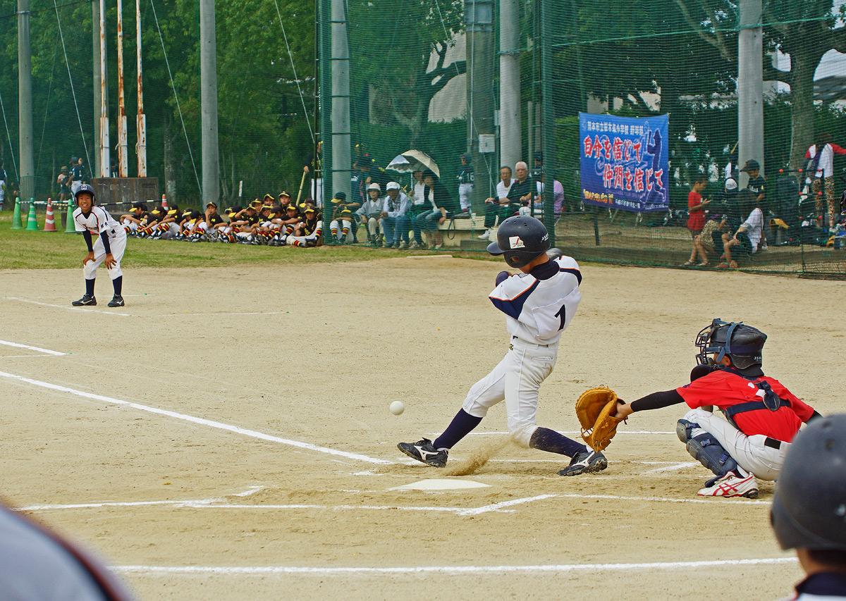 熊本市小中学生軟式野球大会。Ⅱ_b0044115_8403655.jpg