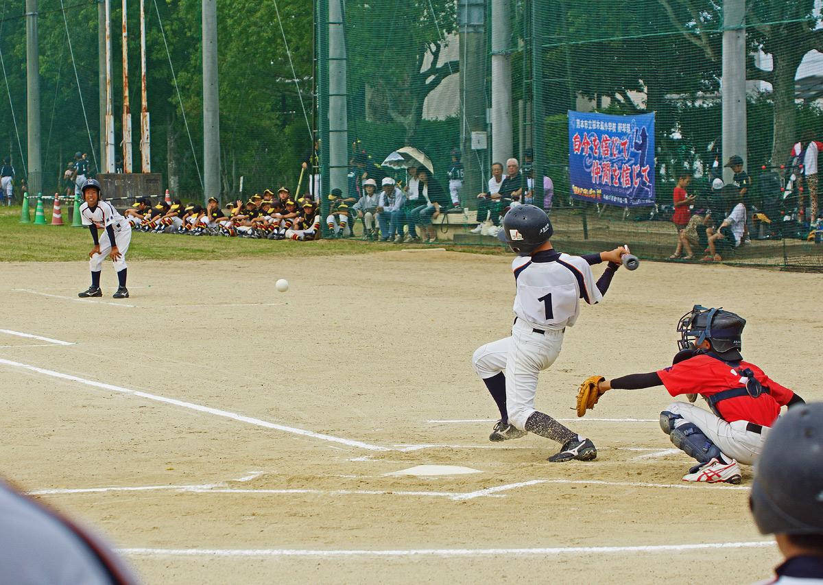 熊本市小中学生軟式野球大会。Ⅱ_b0044115_8412696.jpg