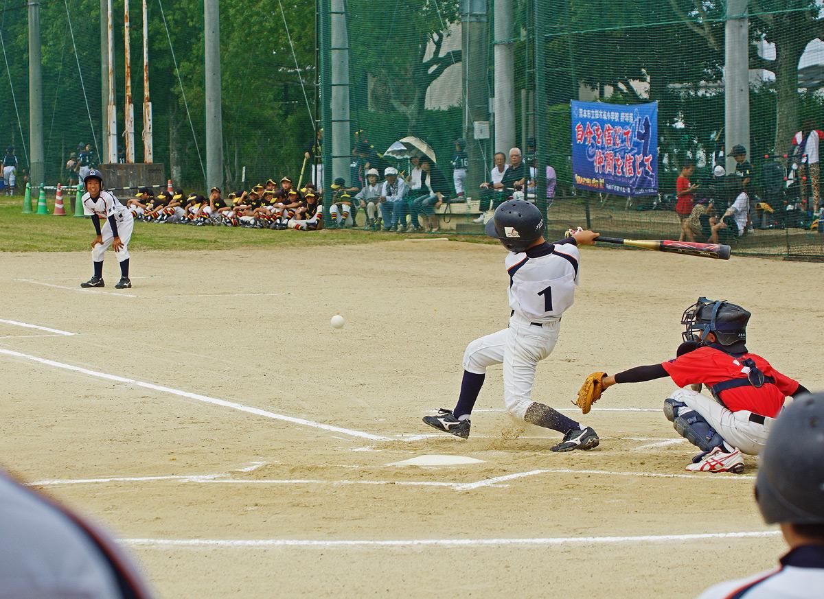 熊本市小中学生軟式野球大会。Ⅱ_b0044115_841395.jpg
