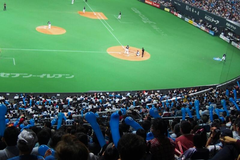 札幌ドームにて稲葉選手を見納め_b0106766_23321420.jpg