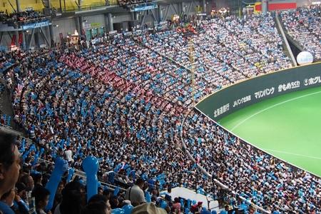 札幌ドームにて稲葉選手を見納め_b0106766_23342773.jpg