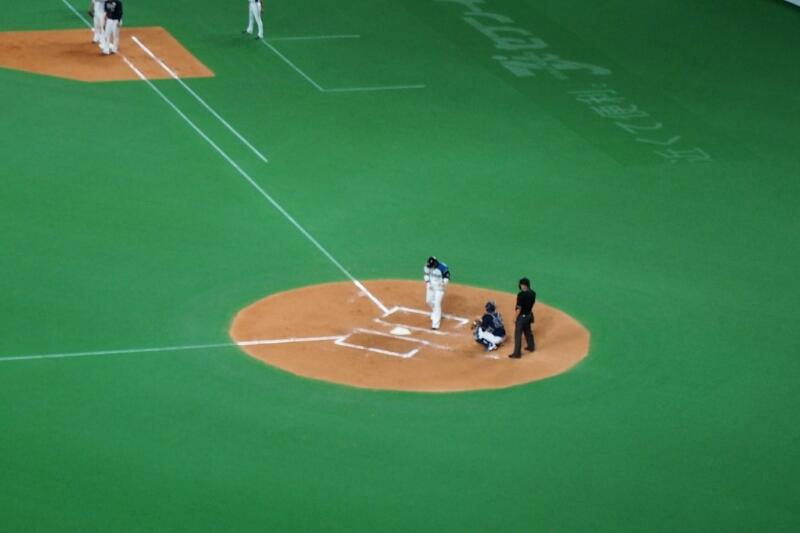 札幌ドームにて稲葉選手を見納め_b0106766_23345479.jpg