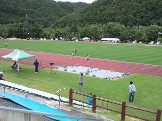 小学校陸上記録会_b0219993_17465646.jpg