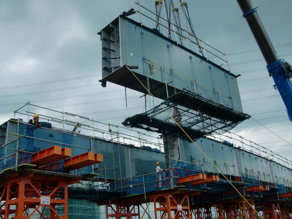 南三間Dランプ橋一括架設工事(準備中)!_d0172802_14131825.jpg