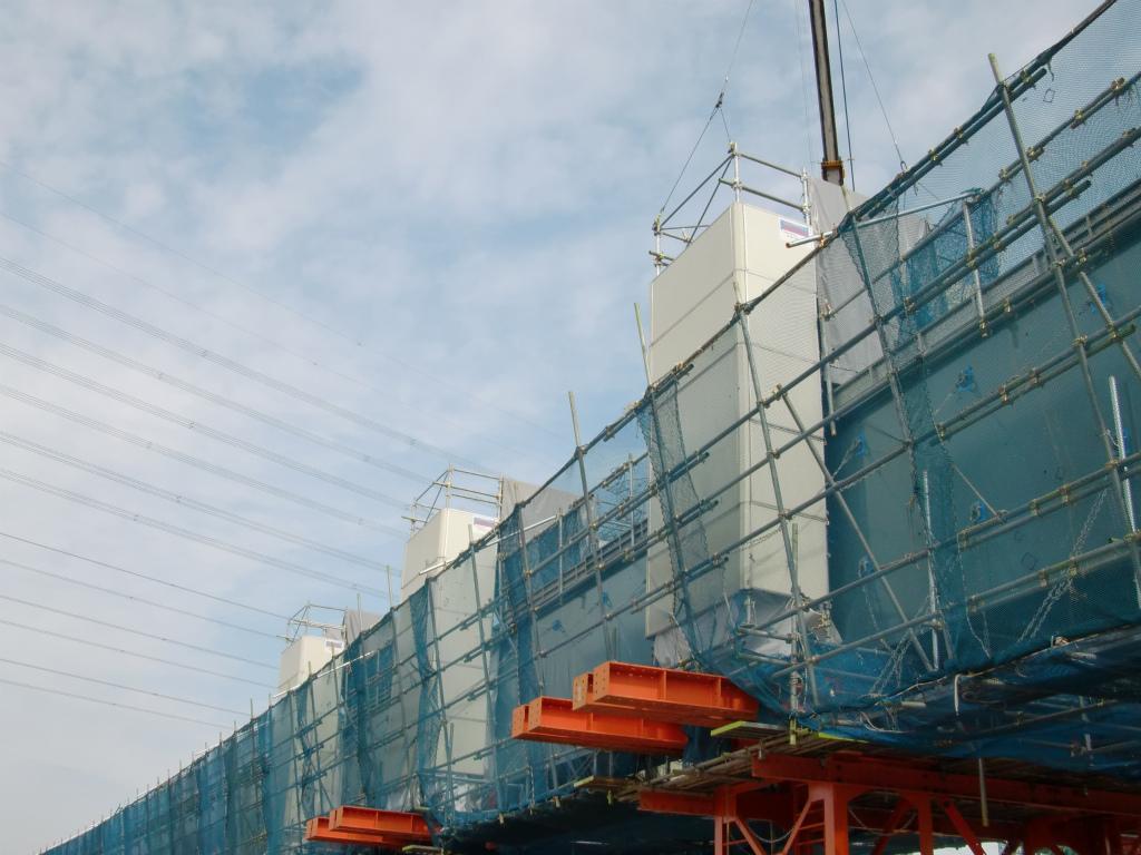 南三間Dランプ橋一括架設工事(準備中)!_d0172802_14143640.jpg