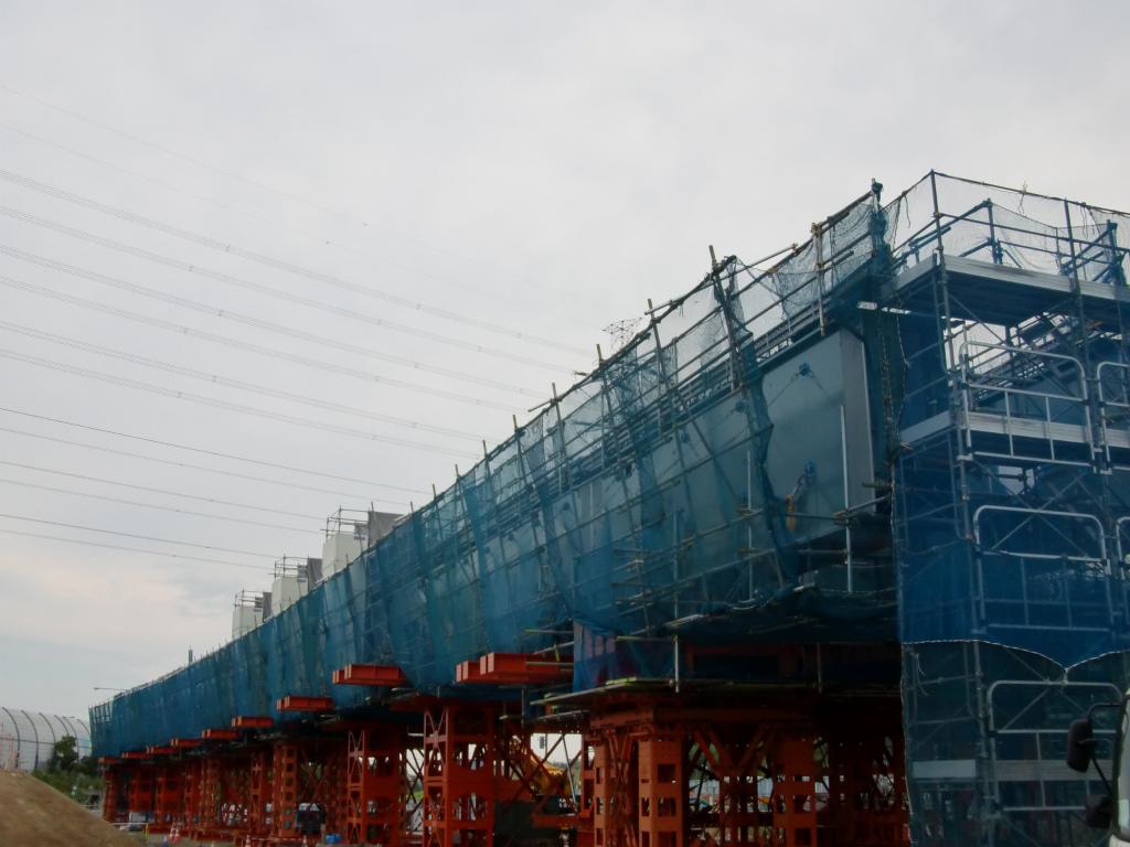 南三間Dランプ橋一括架設工事(準備中)!_d0172802_1414788.jpg