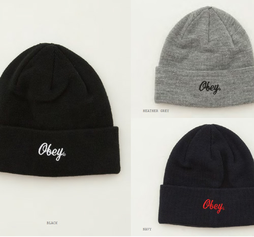 OBEY 2014 Fall Collection !!!_b0172940_17445642.jpg
